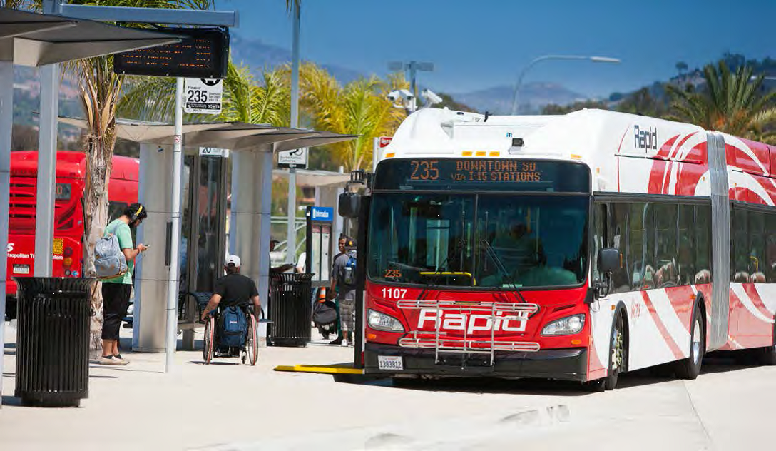 2.Develop a long-term specialized transportation strategy through 2050, as part of the next biennial update of the SANDAG Coordinated Plan, to address the increasing specialized service needs of seniors and people with disabilities.
